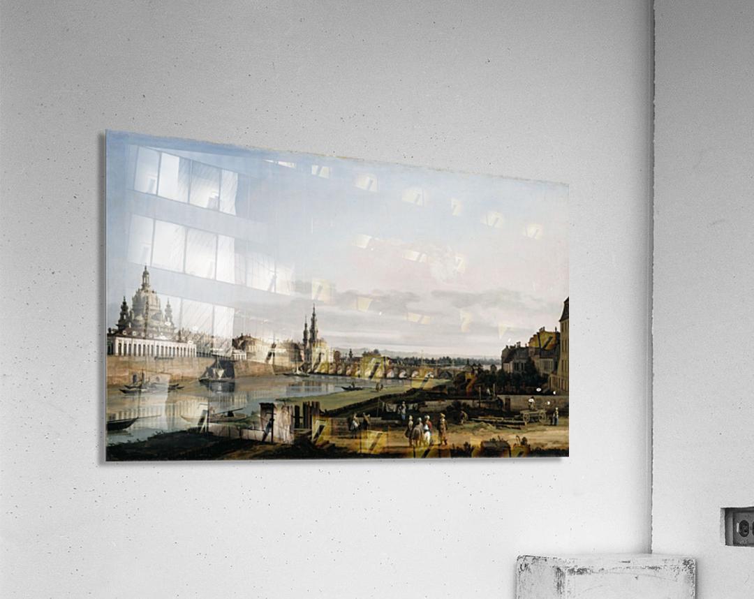 Dresden vom rechten Elbufer  Acrylic Print