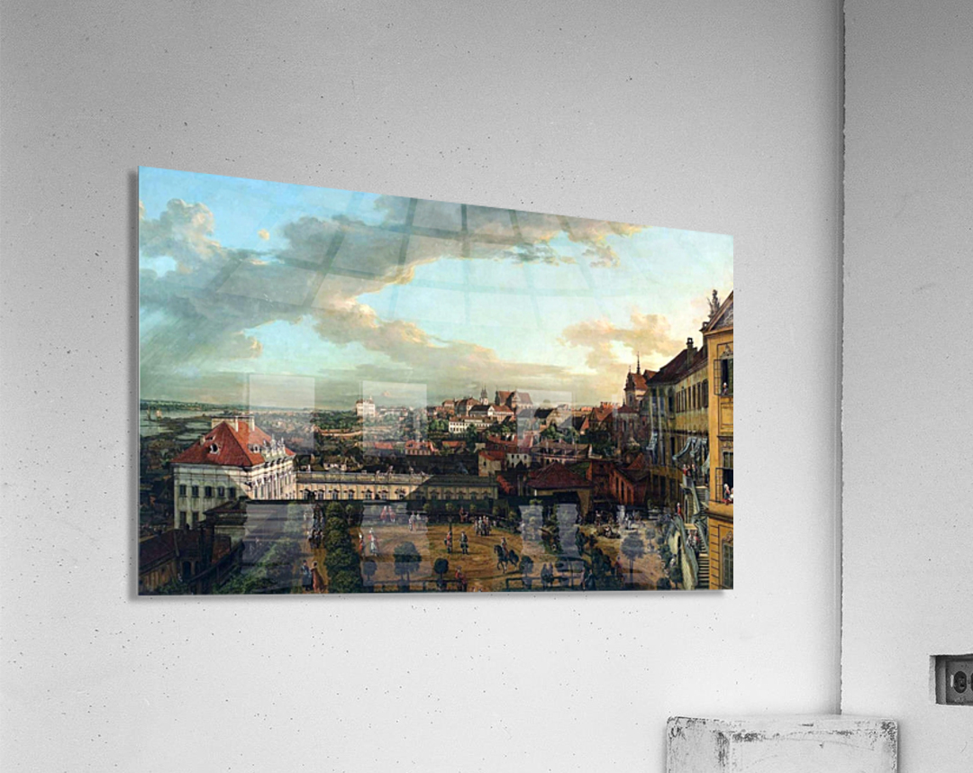 View of Warsaw from the terrace of the Royal Castle  Acrylic Print