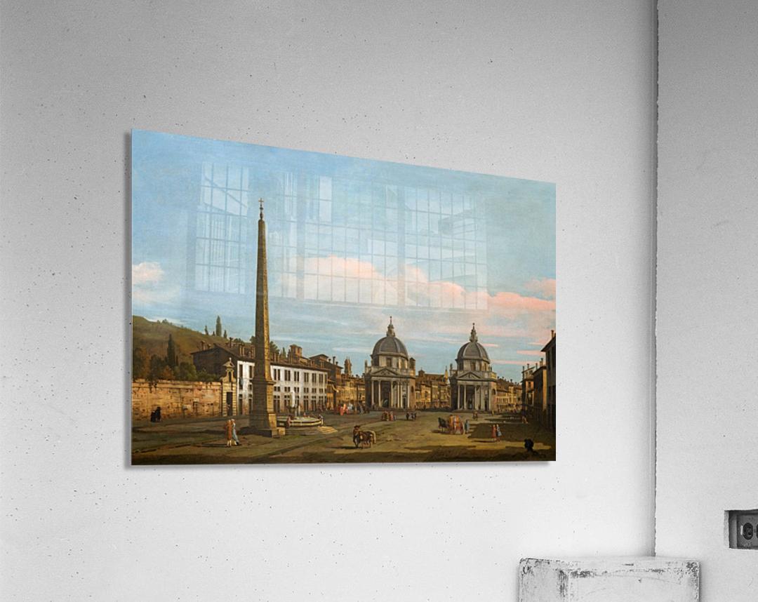 The Piazza del Popolo, Rome  Acrylic Print