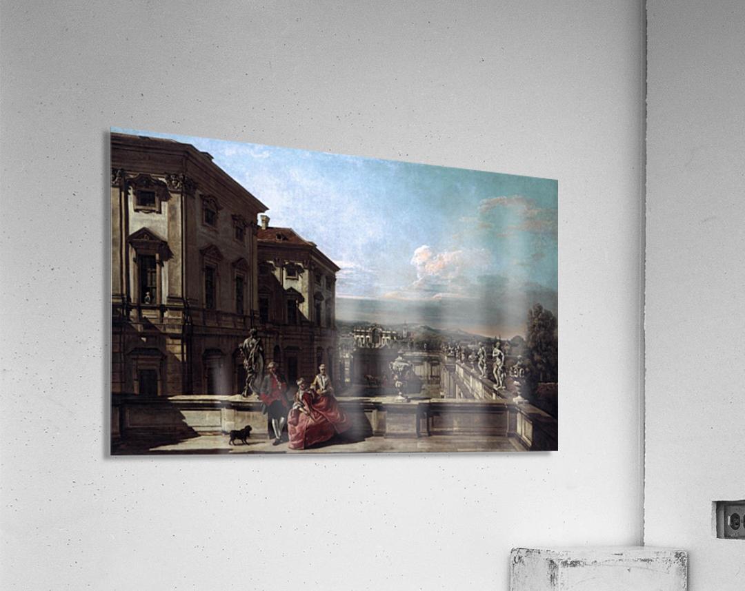 Liechtenstein Garden Palace in Vienna Seen from the East  Acrylic Print