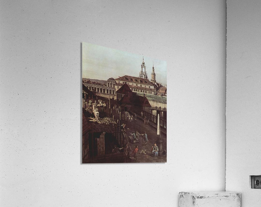 Errichtung der Saulen  Acrylic Print