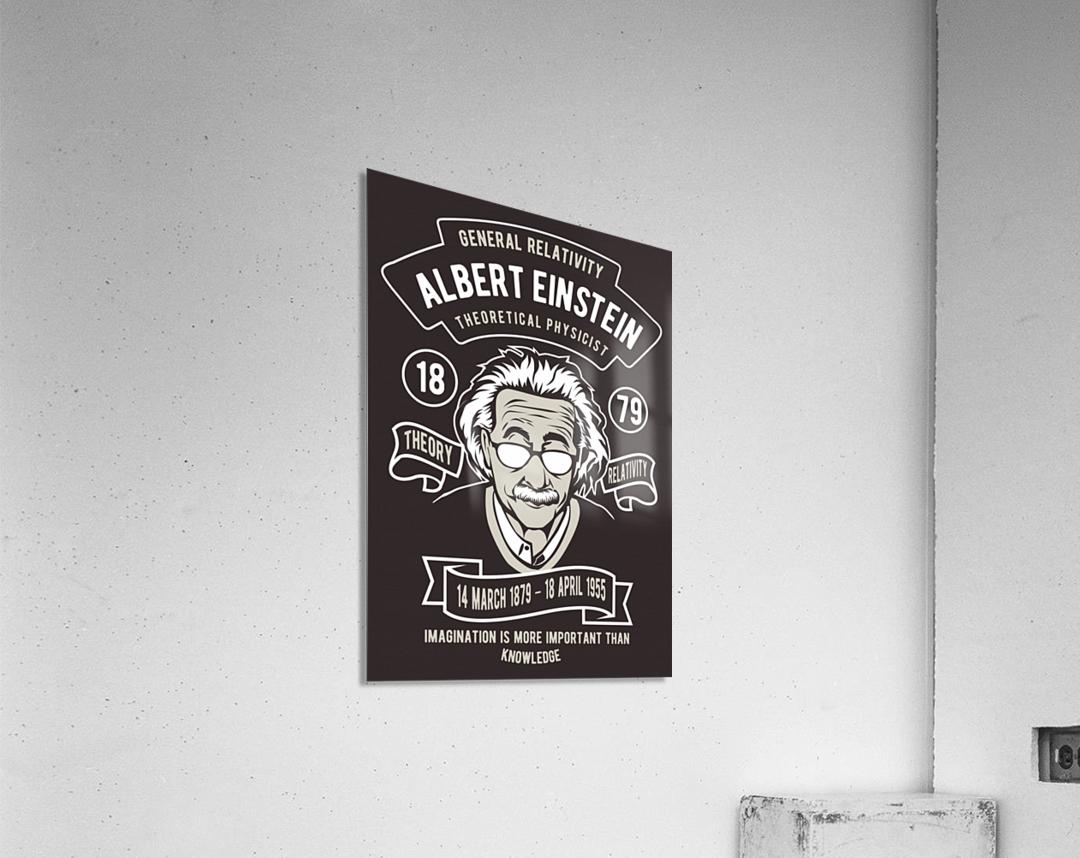 Albert einstein poster  Acrylic Print
