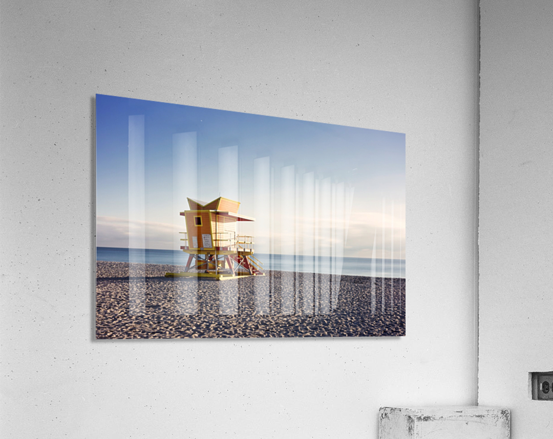 Miami Beach 058  Acrylic Print