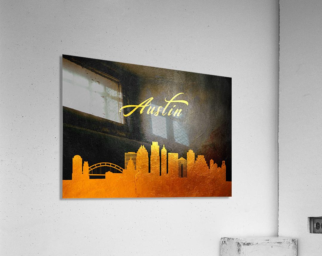 Austin Texas Skyline Wall Art  Acrylic Print