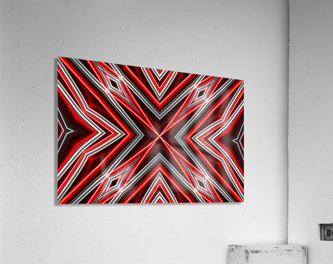 Red and Black  Acrylic Print