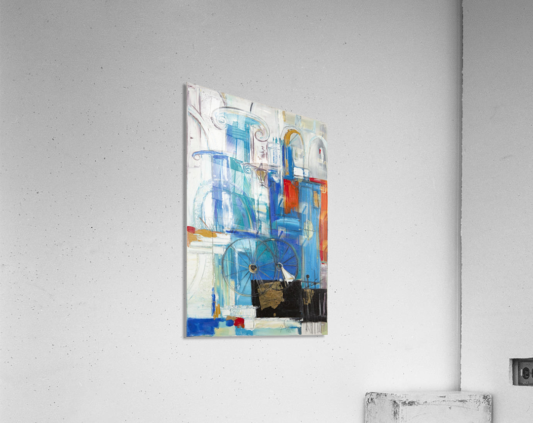 From the series of: Cities of the World  Acrylic Print