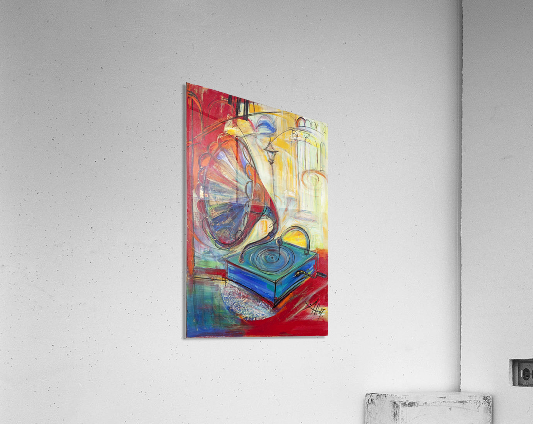 From the series of: Music  Acrylic Print