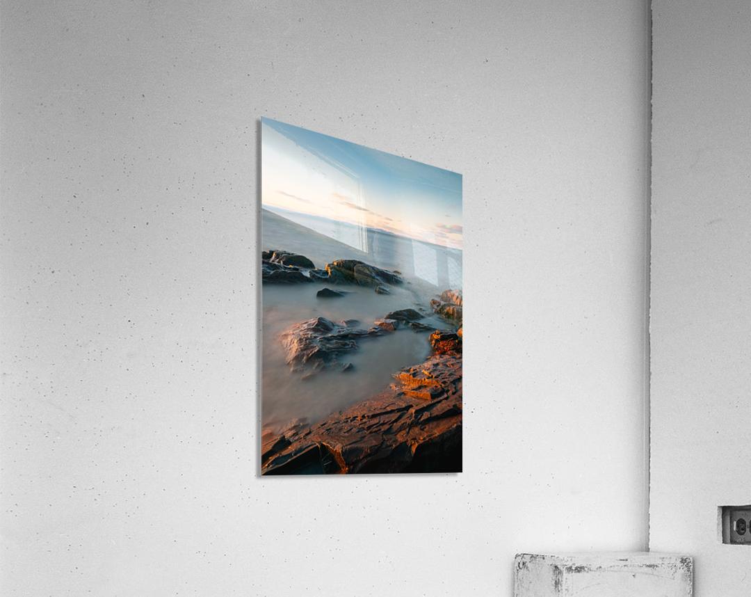 Lanse rocheuse  Impression acrylique