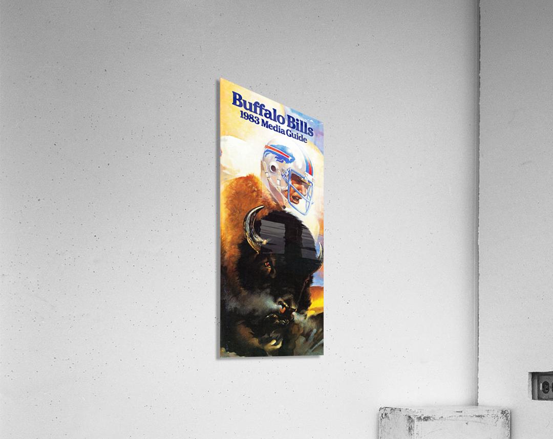 1983 Buffalo Bills Media Guide Artist Bill Ersland  Acrylic Print