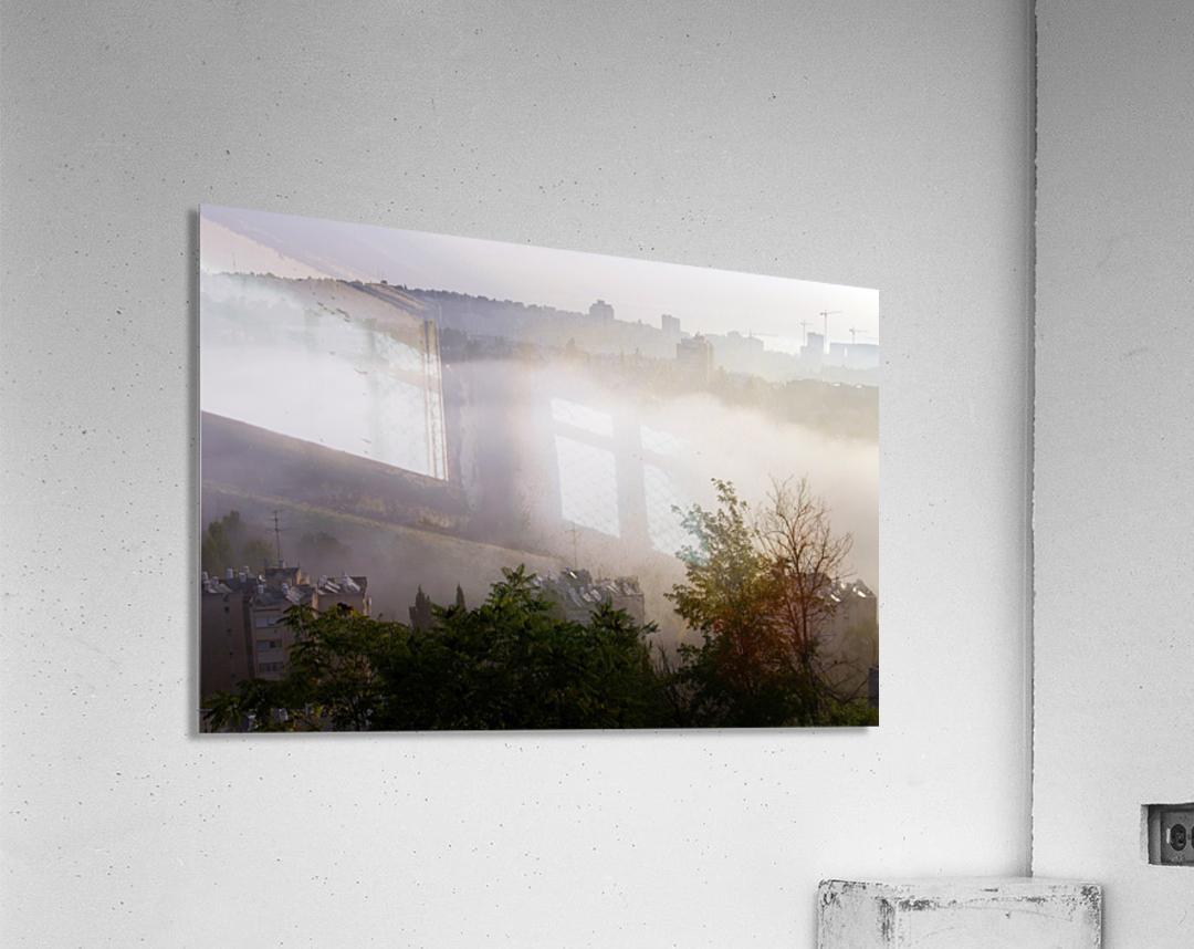 Foggy morning  Acrylic Print