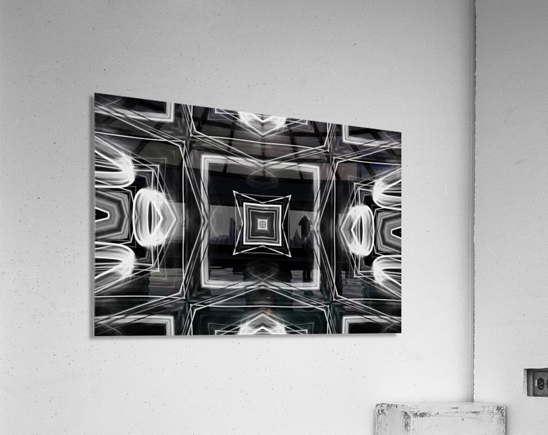 Digital art  Acrylic Print