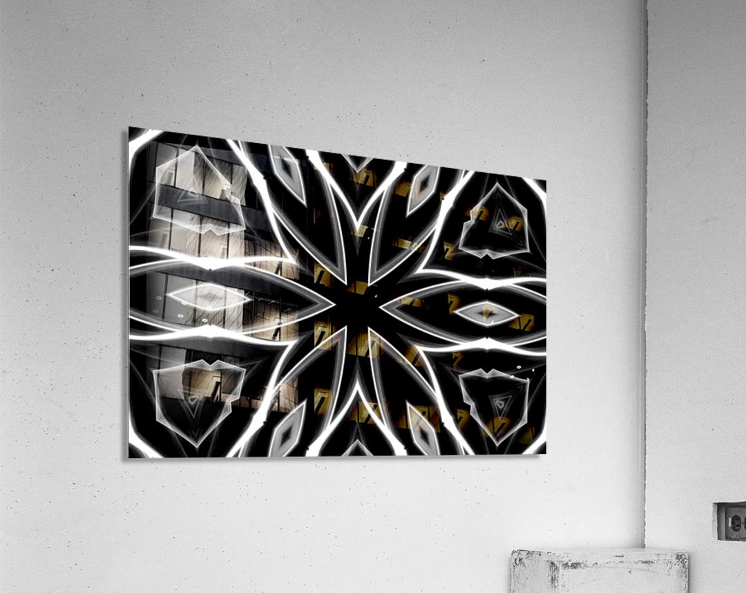Monochrome Graffiti  Acrylic Print