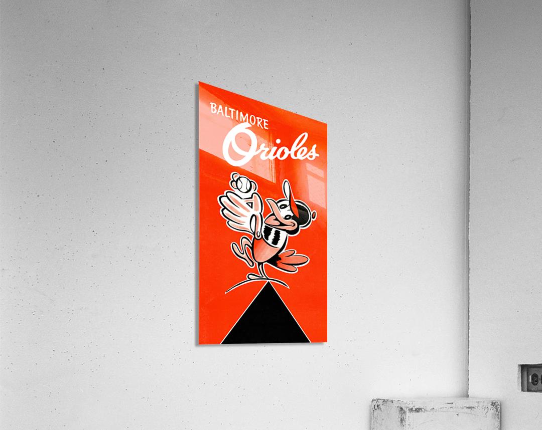 Baltimore Orioles Row One  Acrylic Print