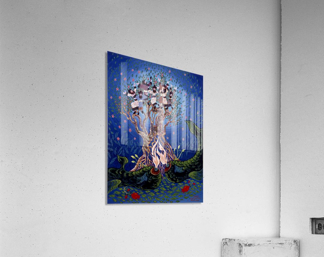 BNC1989-028  Impression acrylique