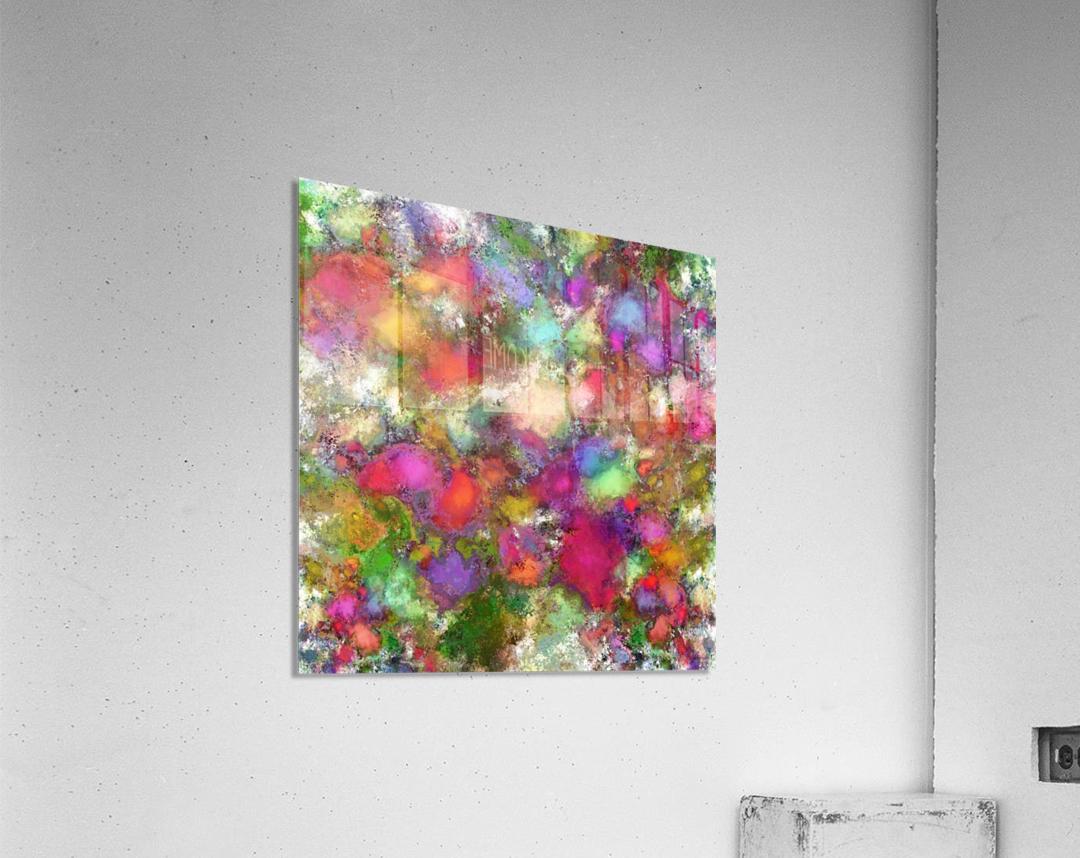 Falling petals  Acrylic Print