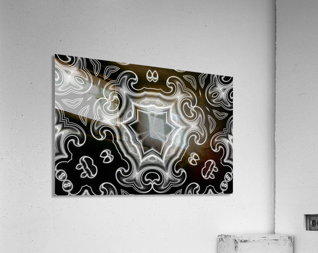 Abstract digital Art  Acrylic Print