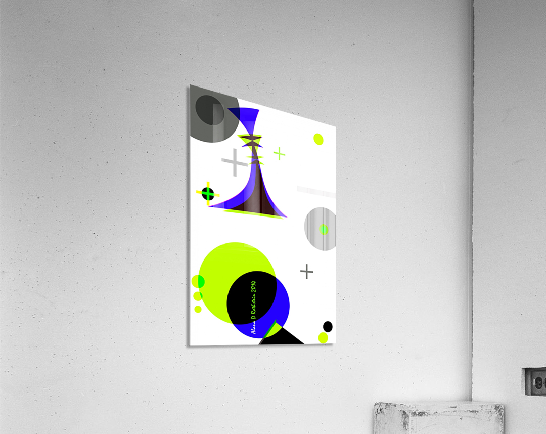 MATH 3  Acrylic Print