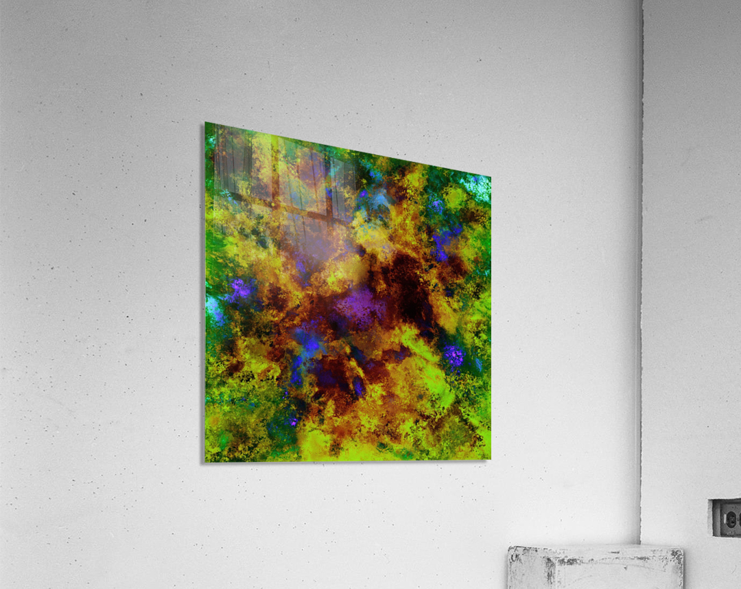 Background noise  Acrylic Print