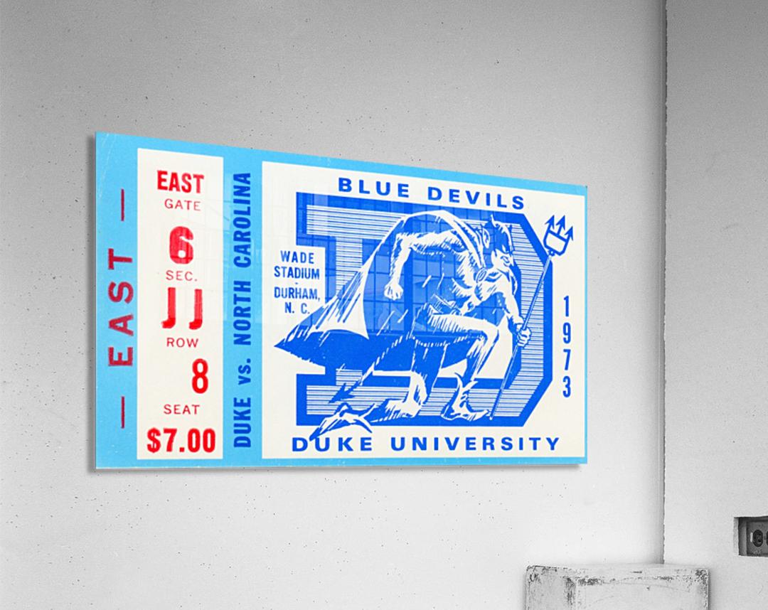 1973 Duke vs. North Carolina  Acrylic Print