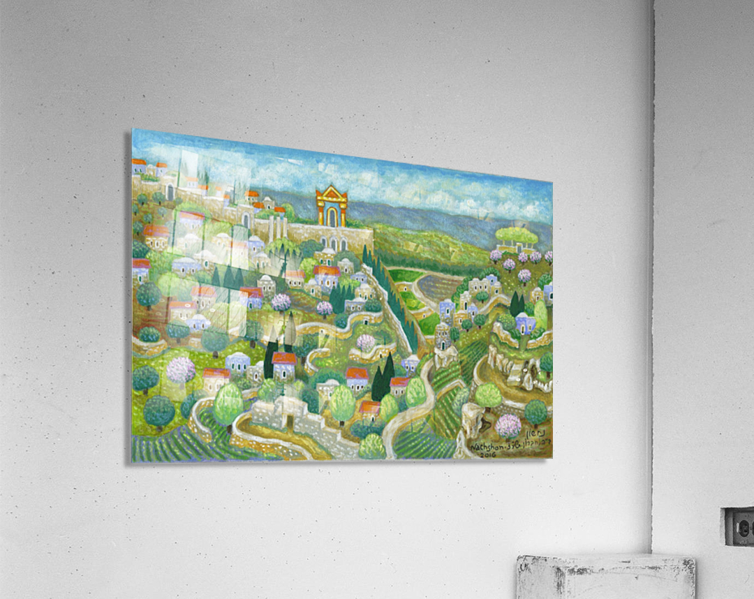 BNC2016-053  Impression acrylique