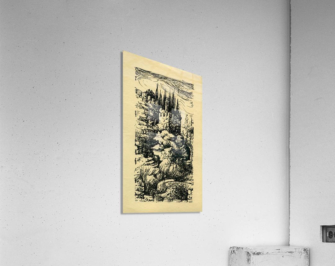BNC1967-023  Impression acrylique