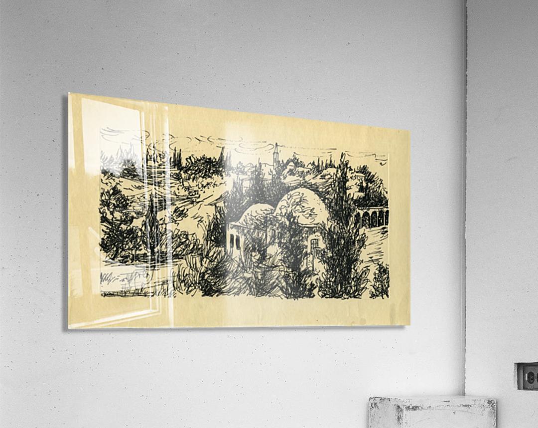 BNC1967-029  Impression acrylique