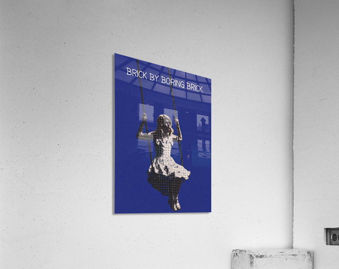 Brick By Boring Brick   Hayley Williams   Paramore  Acrylic Print