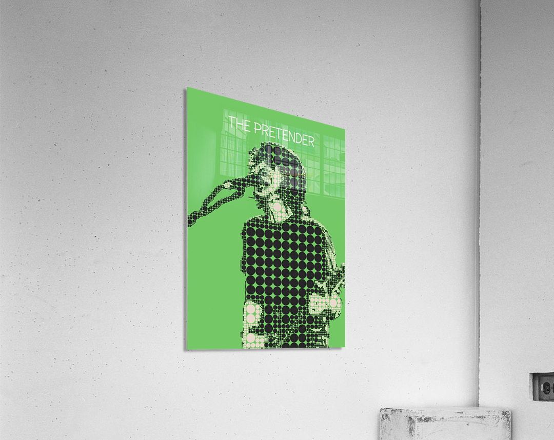 The Pretender   Dave Grohl  Acrylic Print