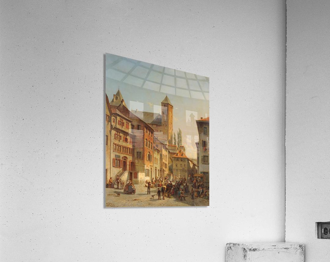 Belgian Continental Market  Acrylic Print