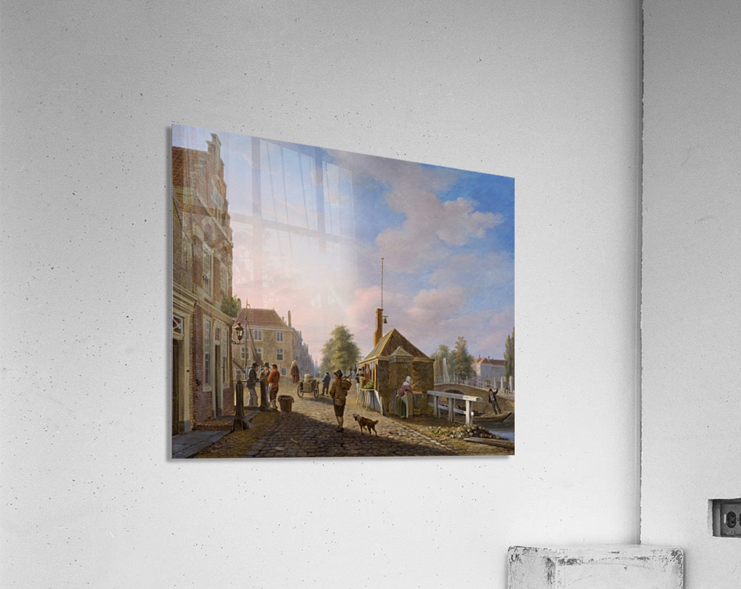 The Spui in The Hague  Acrylic Print