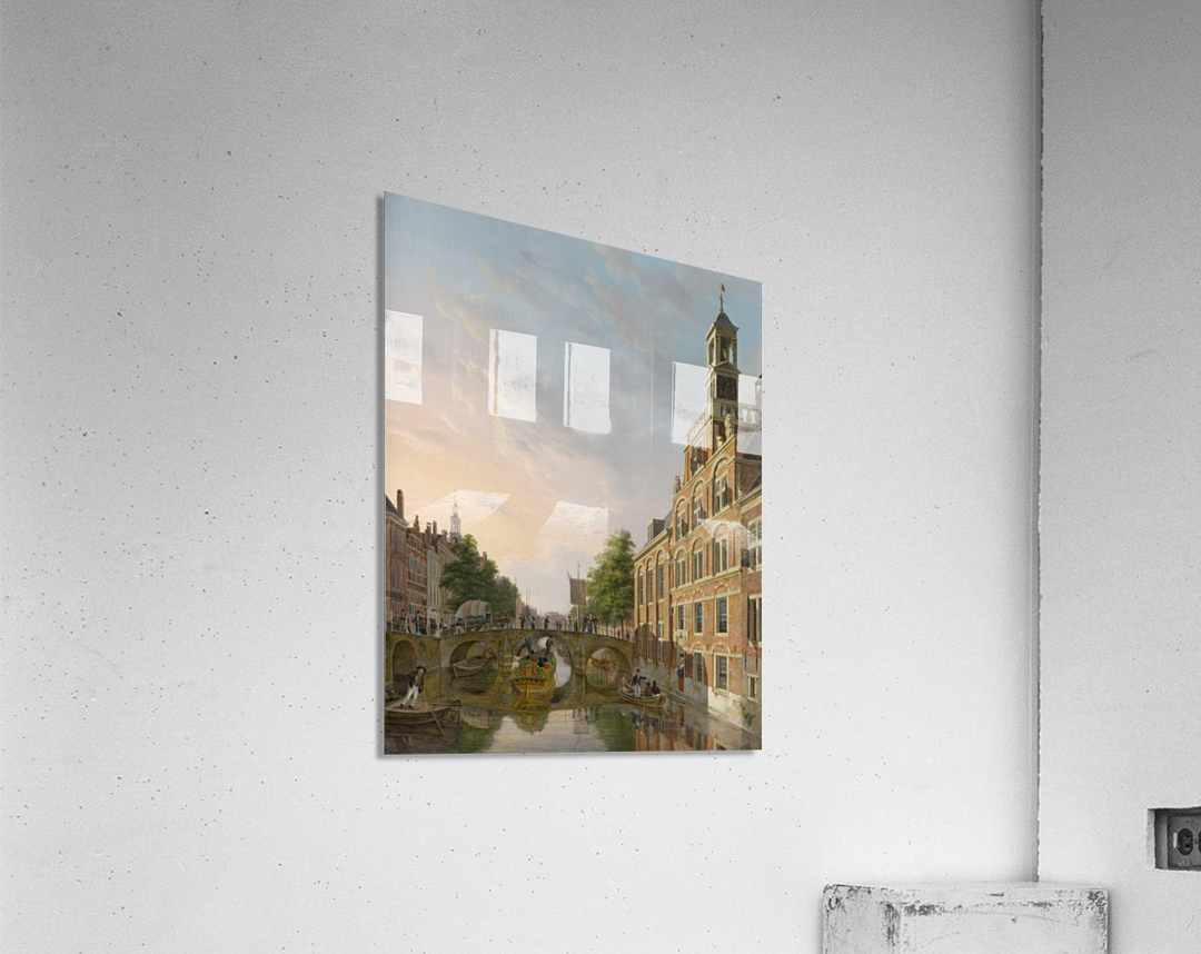 The Old Women and Children Home at the Spui, The Hague  Acrylic Print