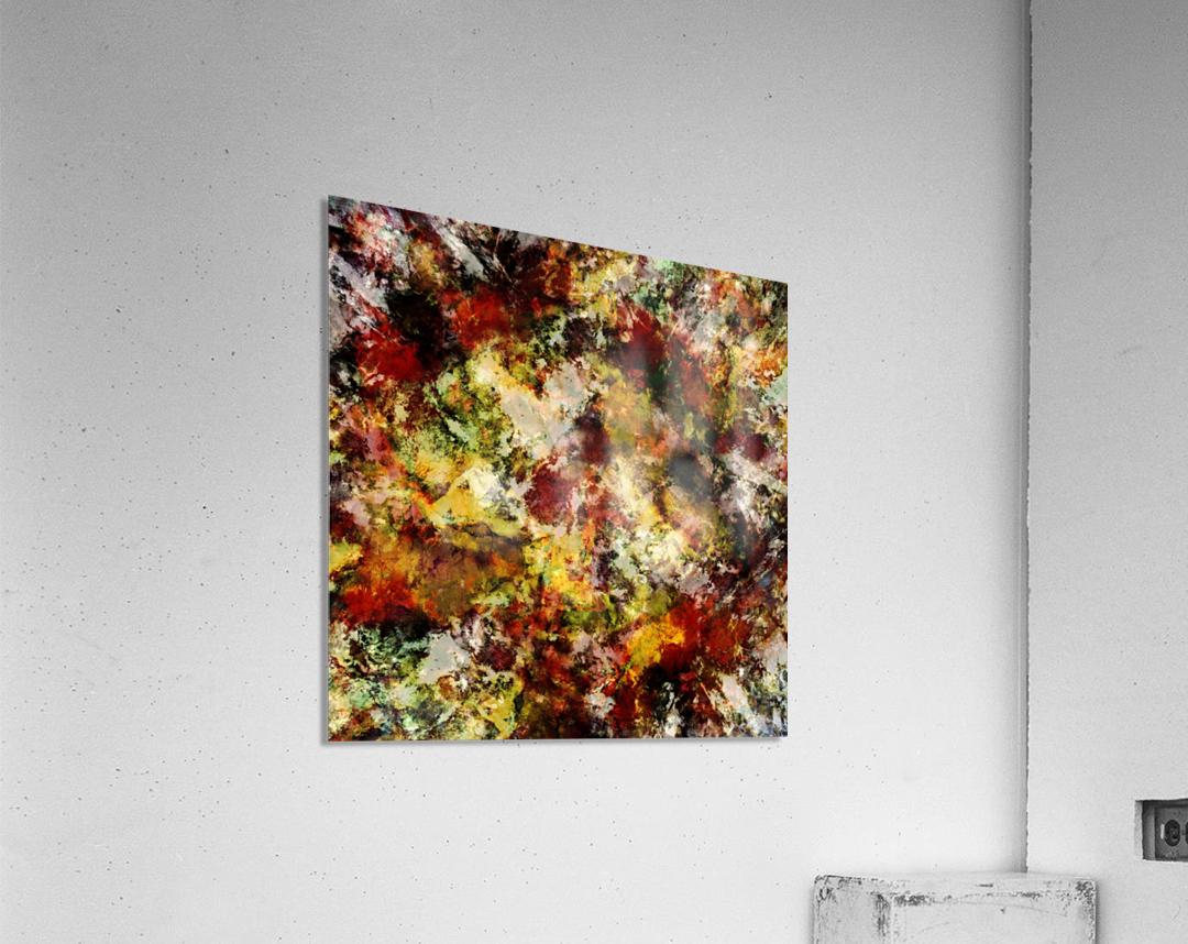 Push  Impression acrylique