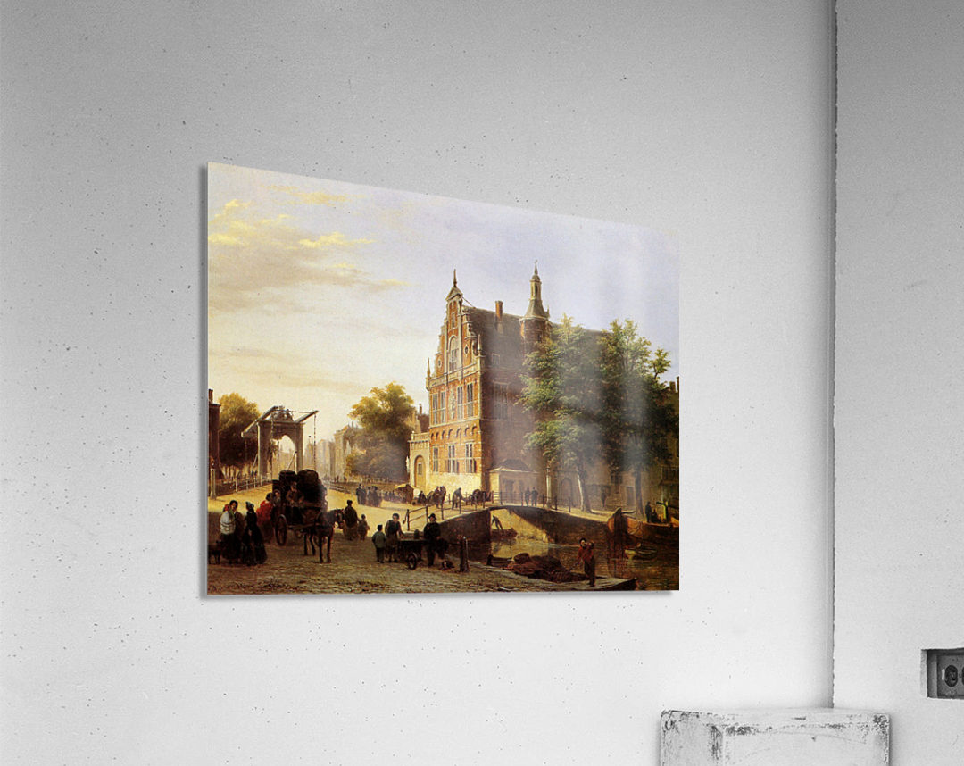 City view Sun  Acrylic Print