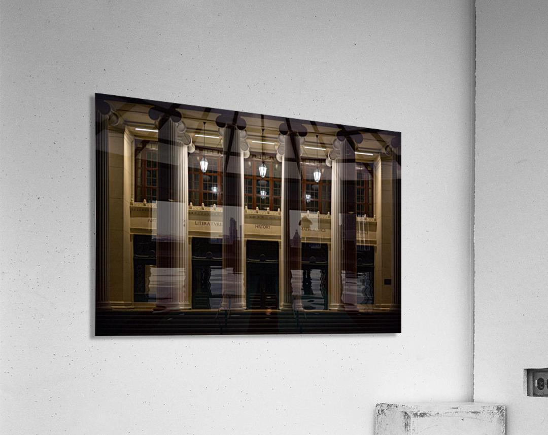 Night Pillars  Acrylic Print