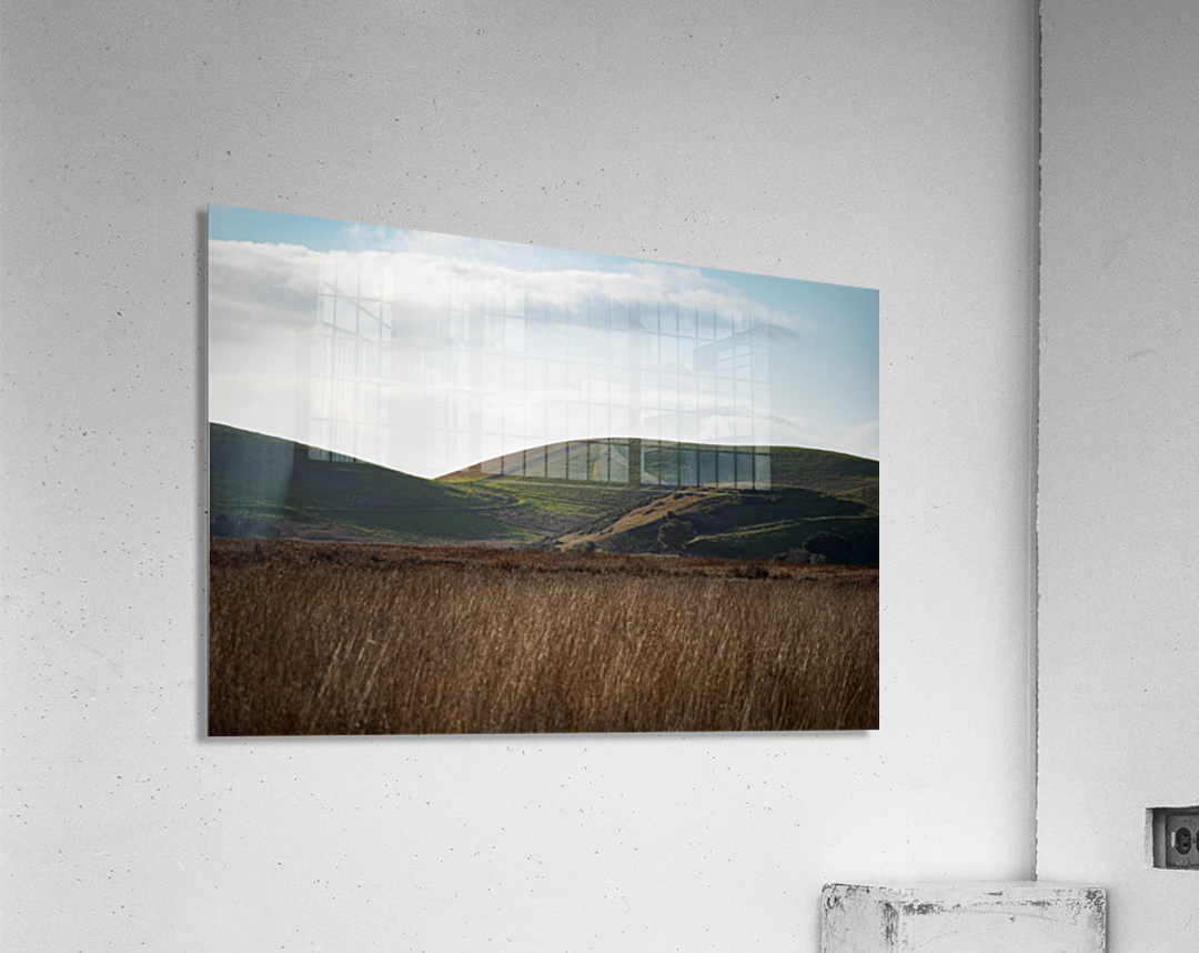 Coyote Hills During Sunset  Acrylic Print