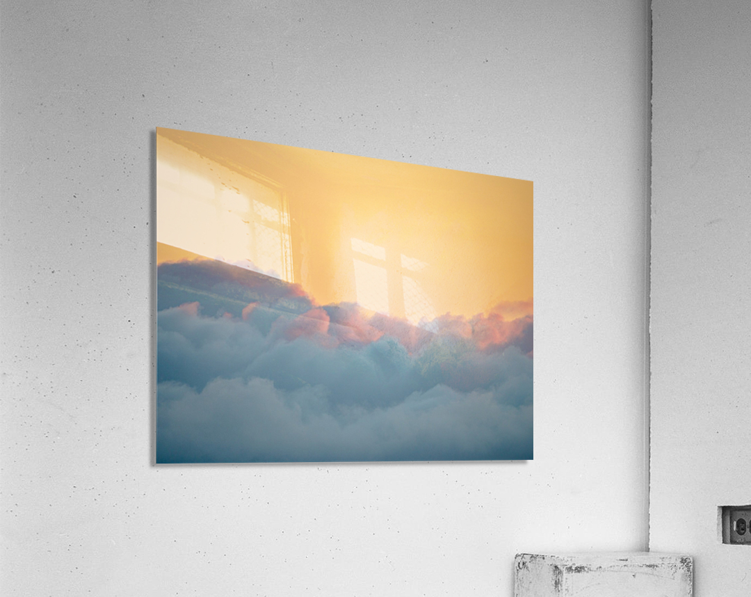 Clouds at Sunset  Acrylic Print