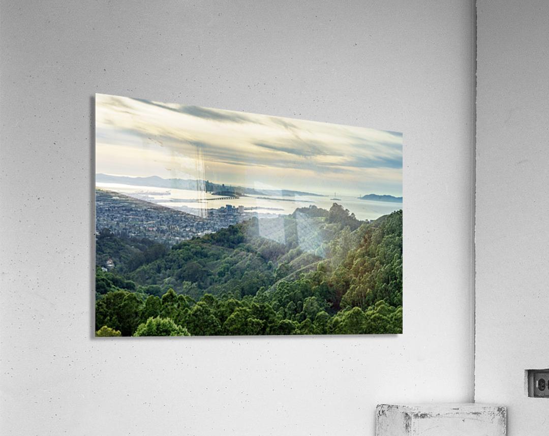 San Francisco Skyline From Berkeley   Acrylic Print