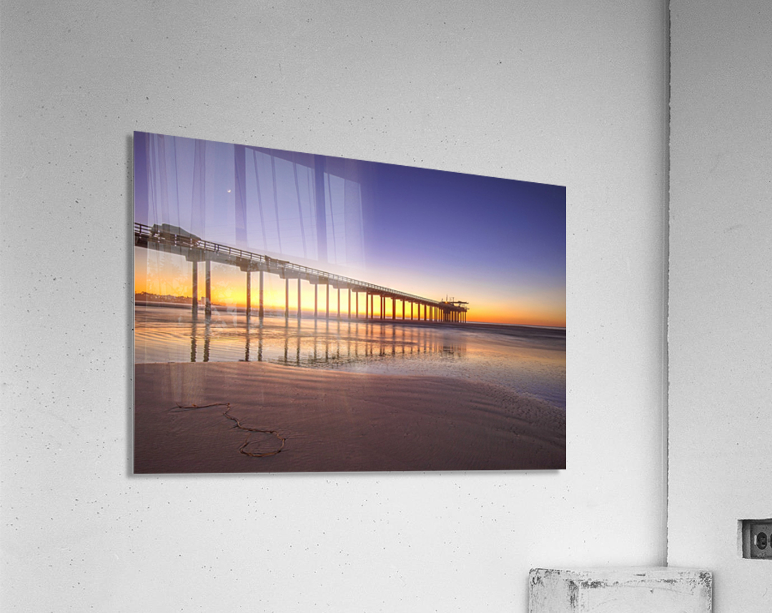 Sunset Therapy  Acrylic Print