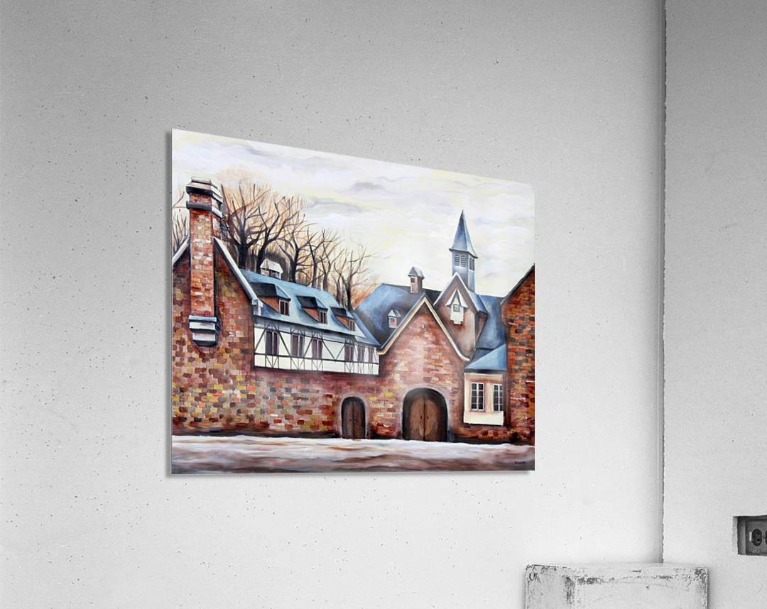 French Provenance Belgium Liege  Acrylic Print