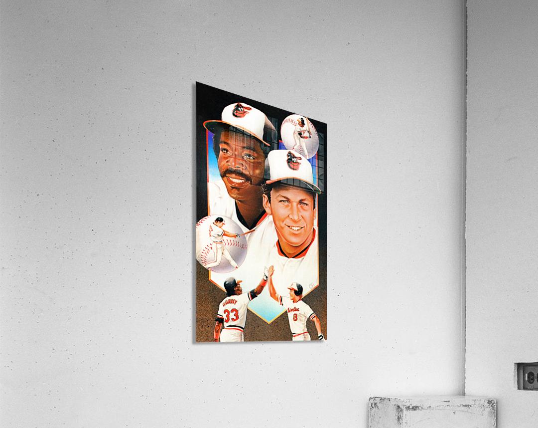 baltimore orioles cal ripken jr art  Acrylic Print