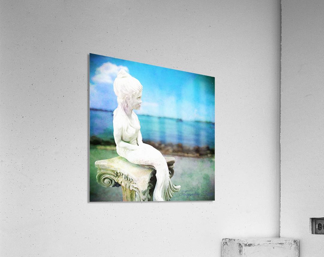 MermaidLisa  Acrylic Print