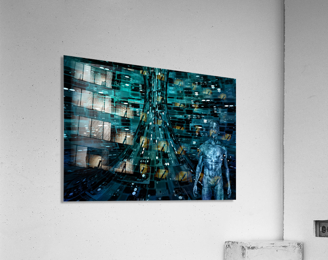 Cyborg Man  Acrylic Print