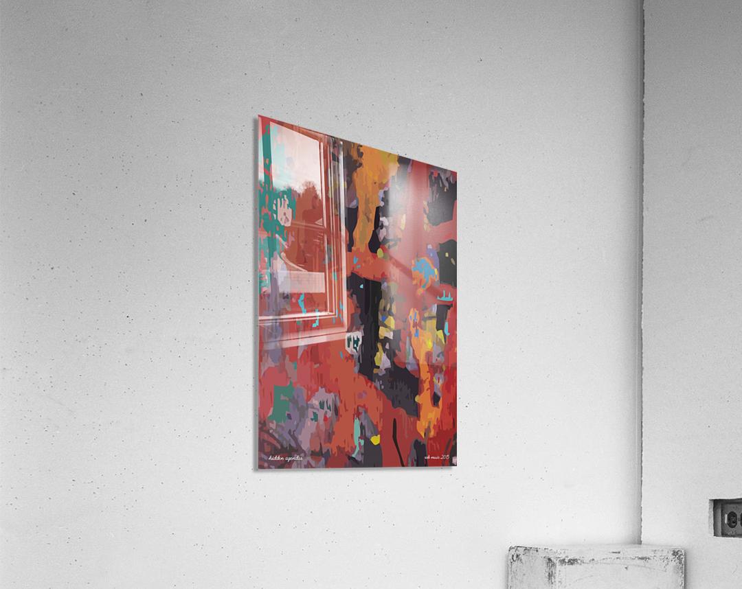 hidden agendas  Acrylic Print