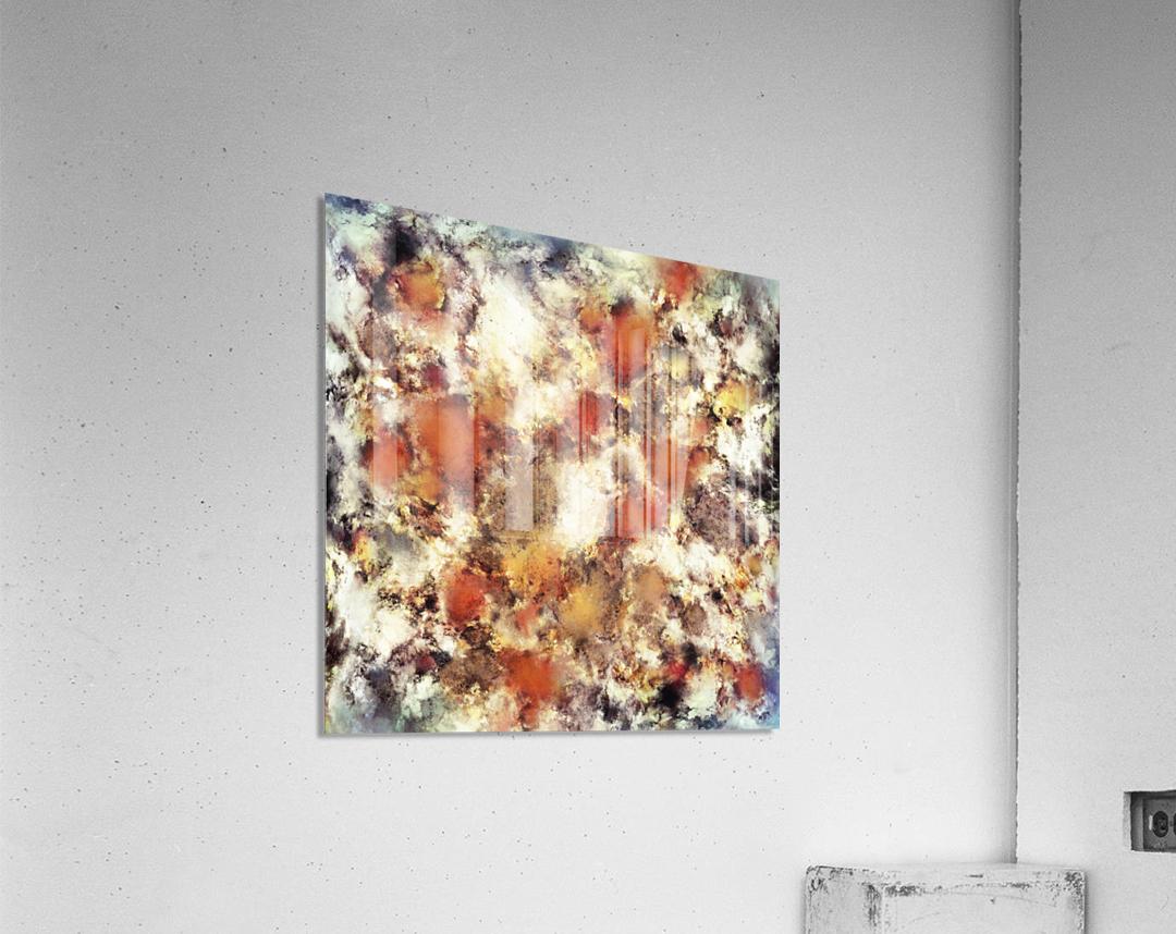 Terracotta tumble  Acrylic Print