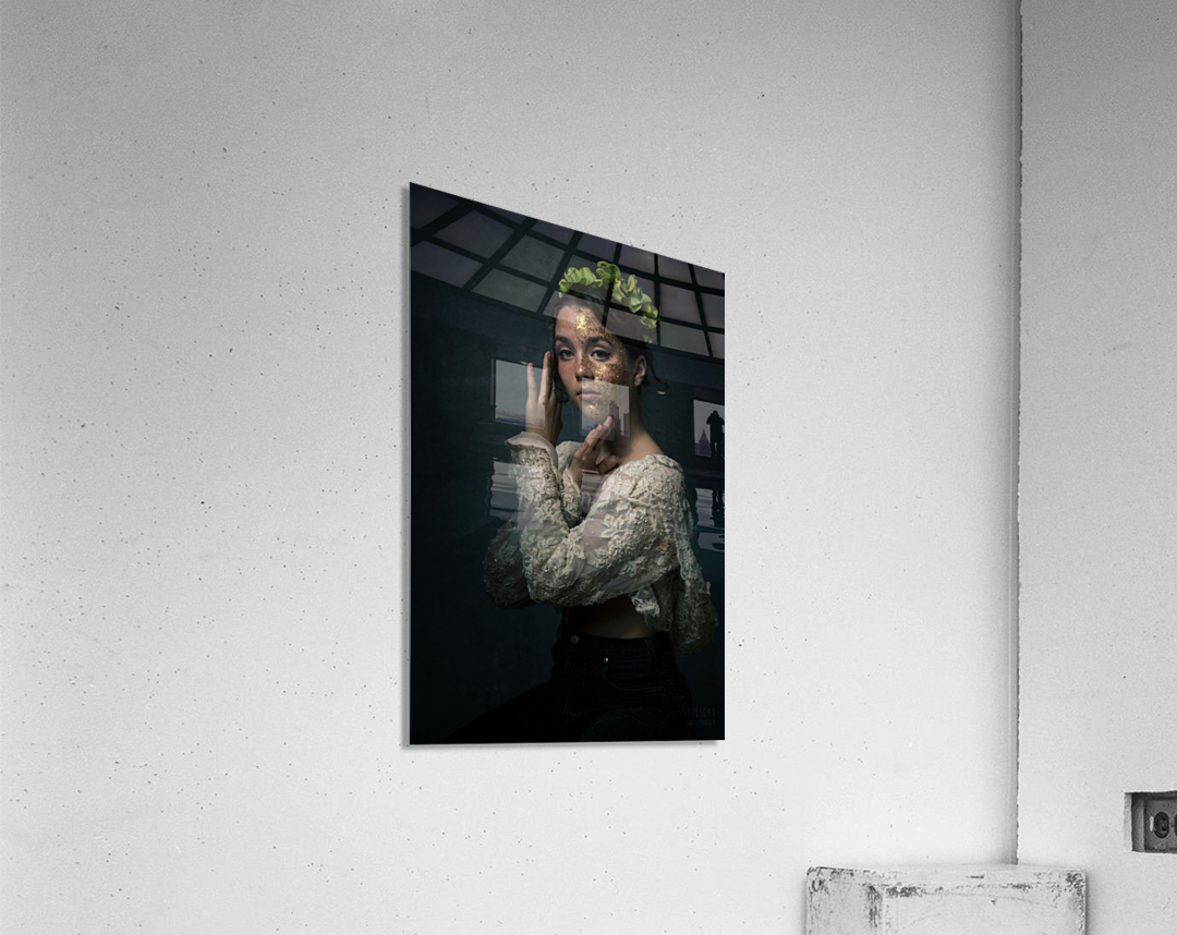 Chloe au printemps  Acrylic Print