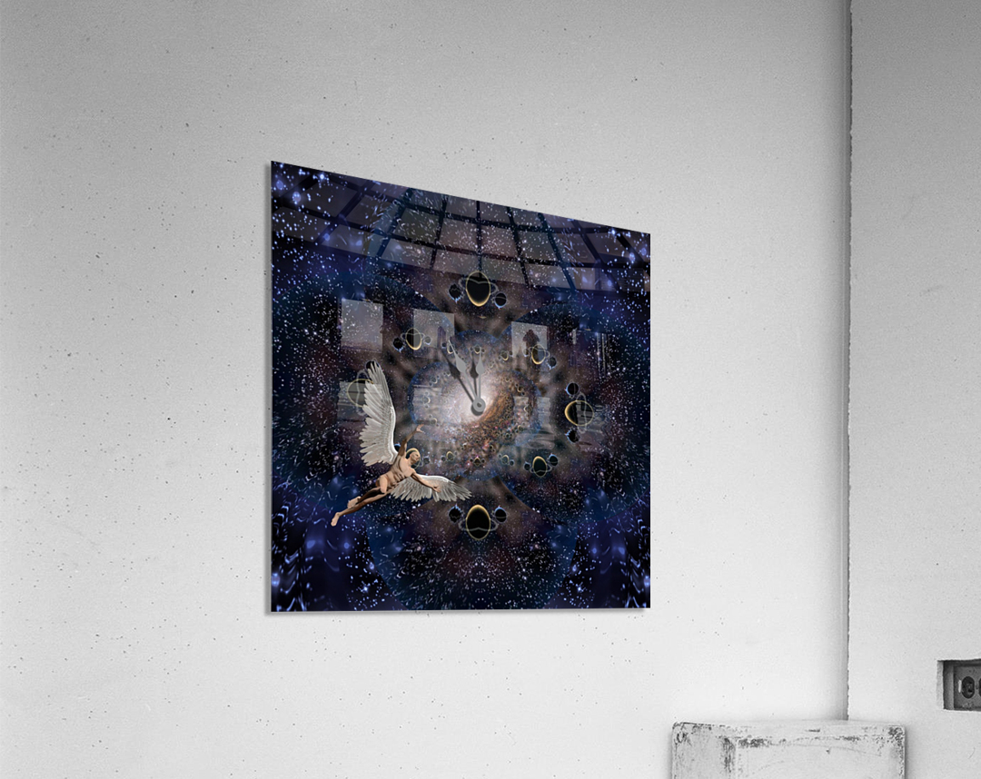 Angel in Space  Acrylic Print