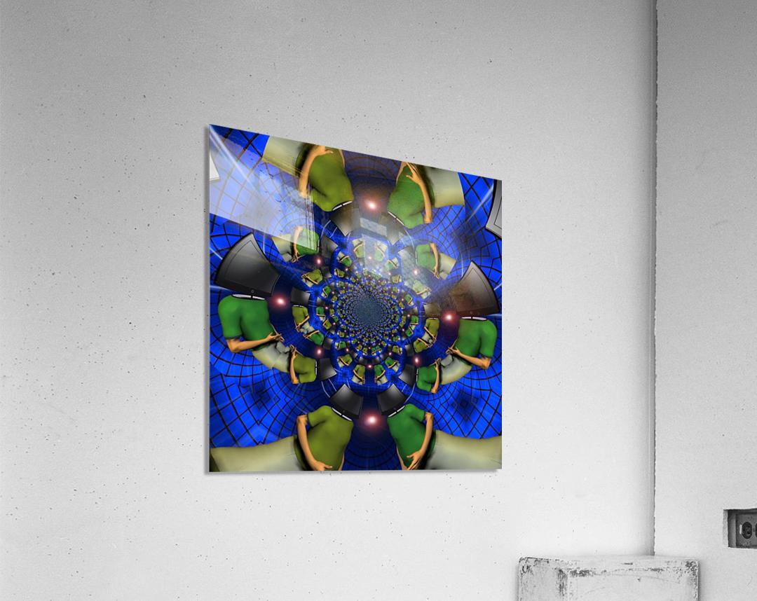 TV Head  Acrylic Print
