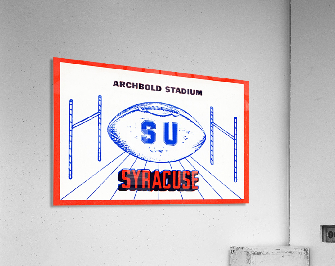 art made from ticket stubs  Acrylic Print