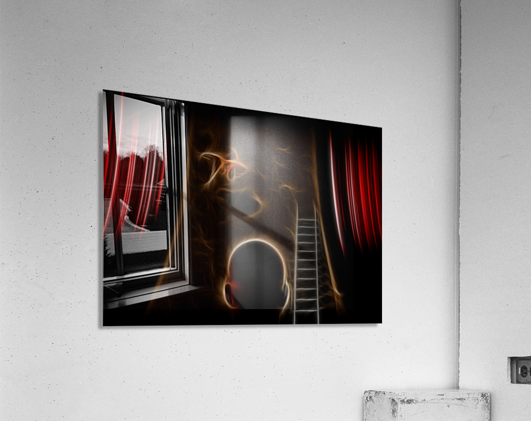 Surreal Performance  Acrylic Print