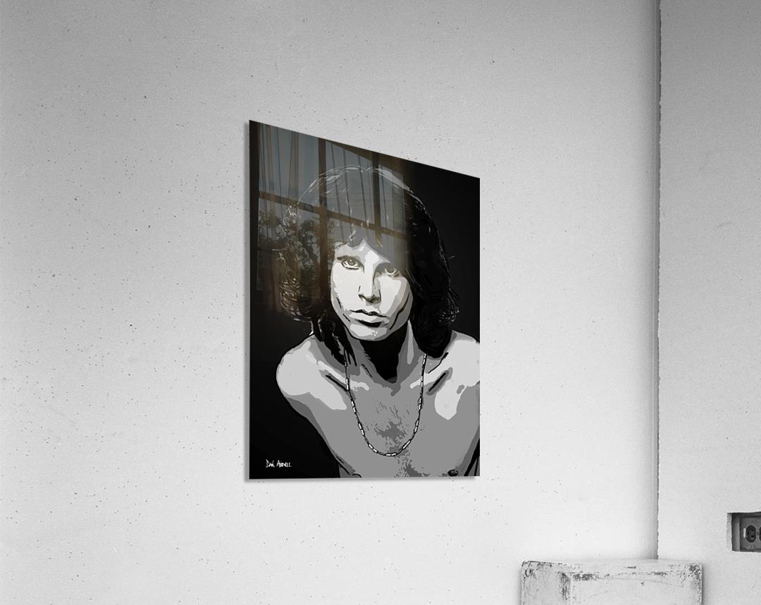 Jim Morrison of The Doors   Acrylic Print